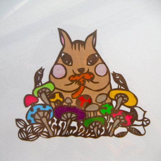 リス/squirrel  ※sold out