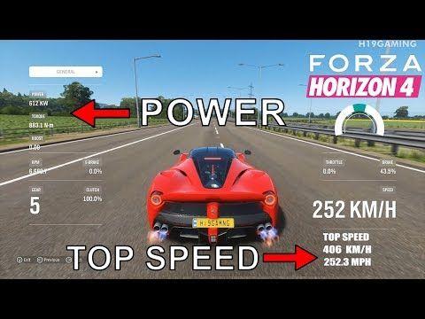 Forza Horizon Fastest Car 1 Youtube In 2020 Fast Cars Forza Horizon Top 10 Fastest Cars