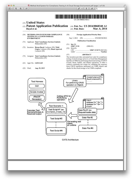 Method And System For Compliance Testing In A Cloud Storage Environment.pdf.png (1074×1460)
