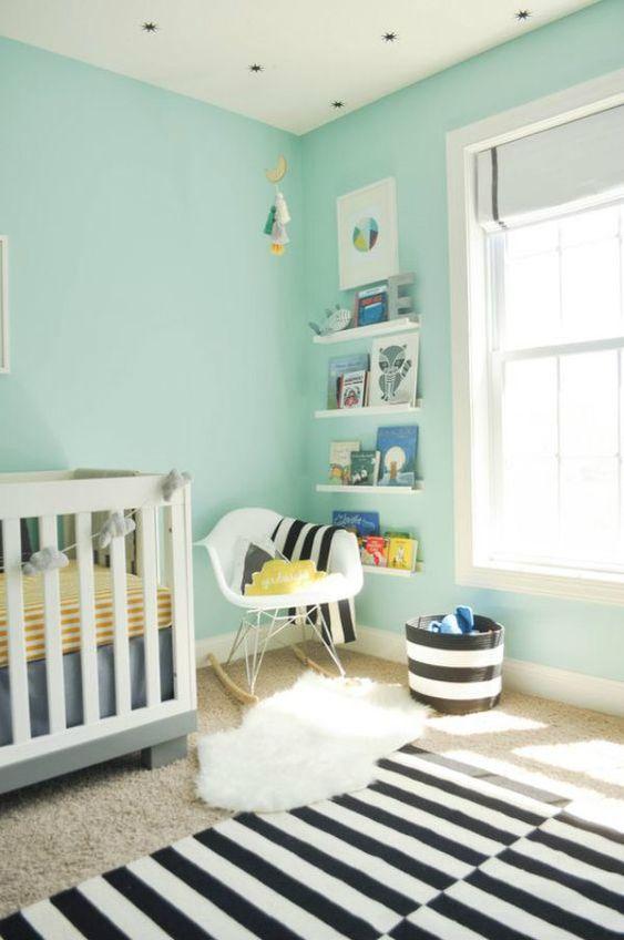 Casar É… » Arquivos » Quarto de Bebe Preto e Azul: Fotos e Ideias de Decoração