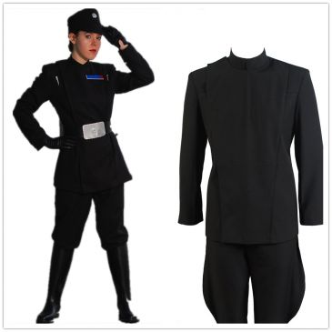Star Wars Cosplay  Imperial Officer Uniform Costumes