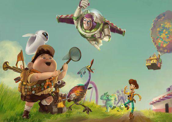 The Pixars by Sendolarts.deviantart.com on @deviantART