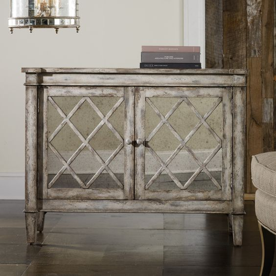 #Hooker Furniture Melange Villa Blanca Chest