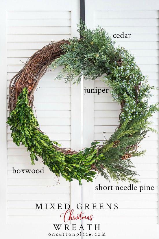 21+ Green christmas wreath ideas