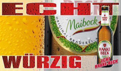 Würzig und stark – Haake-Beck Maibock ist unser Frühlingsbote, den Sie jedes Jahr von Mitte Februar bis Anfang Mai genießen können. Nach alter Tradition gebraut, hat dieses würzige Starkbier einen Alkoholgehalt von 7,2 % Vol. und 62 kcal*.