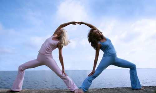 Partner Yoga   Yoga poses, Teaching and Health
