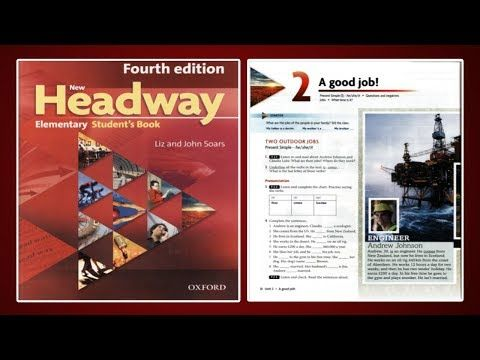 Update New Headway Elementary Student S Book 4th Unit 2 A Good Jobs Youtube Good Jobs Elementary Student