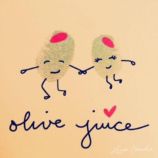 olive juice :-)