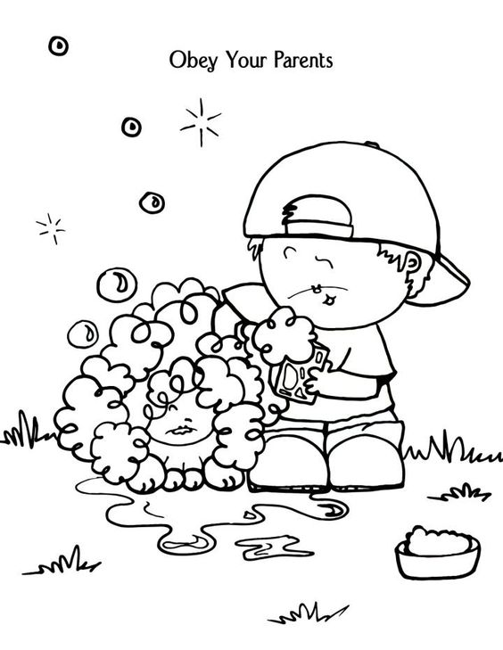 coloring pages for parents - photo#26