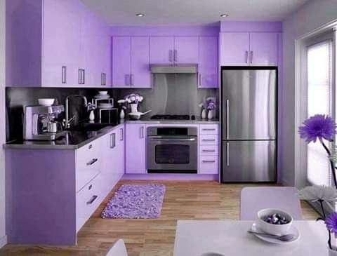 Pin By Sharon Gibson On Purple Passion Hot Pink Kitchen Purple Kitchen Pink Kitchen