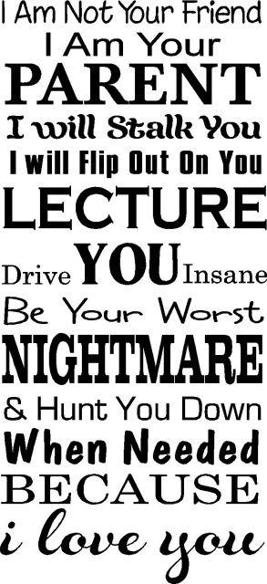 HA, HA.  Especially the Lecture part.