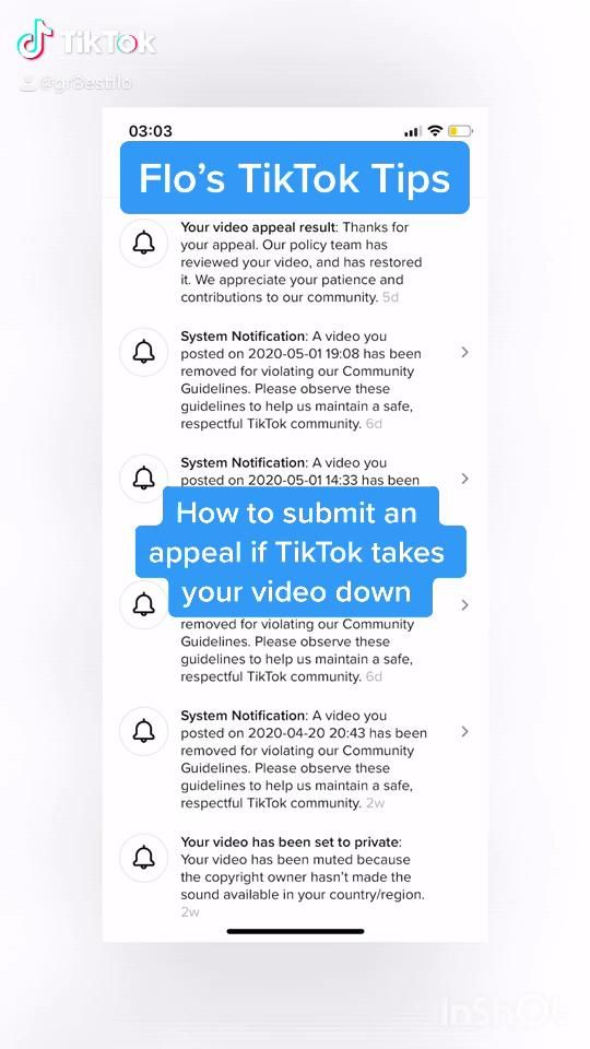 How To Submit An Appeal On Tiktok Video How To Remove Flos Appealing