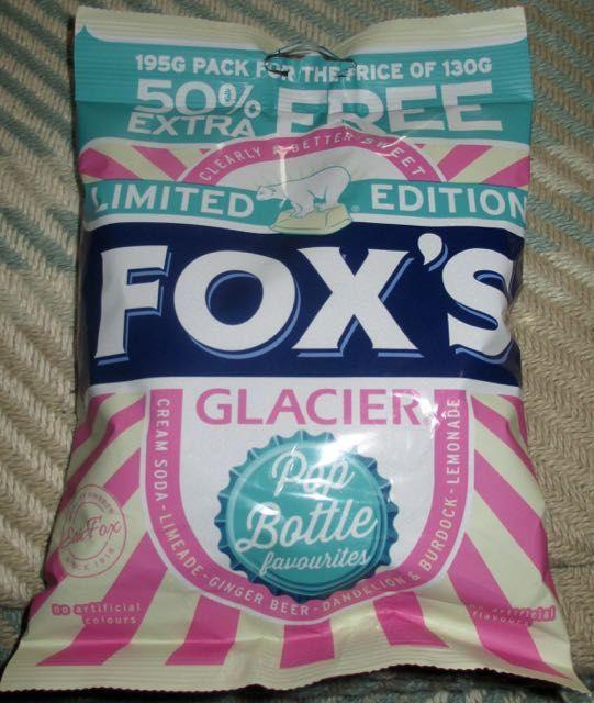 FOODSTUFF FINDS: Fox's Glacier Sweets - Pop Bottle Favourites (Pound World) [By @Cinabar]