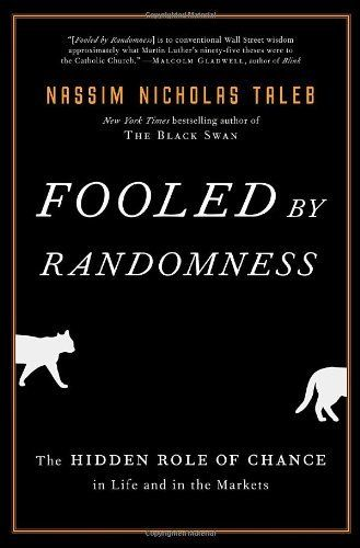 Fooled by Randomness: The Hidden Role of Chance in Life and in the Markets by Nassim Nicholas Taleb, http://www.amazon.com/dp/1400067936/ref=cm_sw_r_pi_dp_Kxt4pb03CRGPW