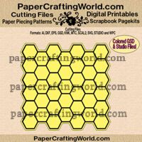 Hexagon Paper Lace CF