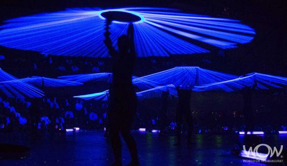 On Stage - CentrePort Illumination Illusion Section. 2012 Brancott Estate WOW Awards Show