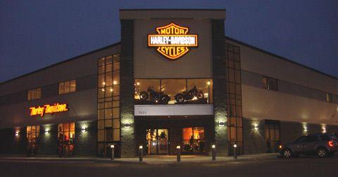 Harley-Davidson fachada
