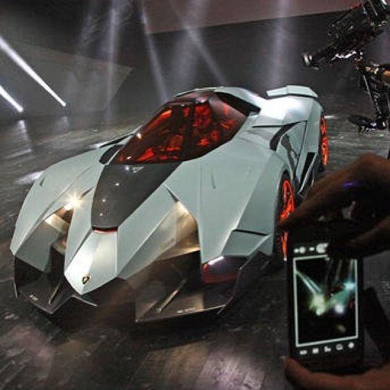 Newest Lamborghini Egoista: The Lamborghini Egoista – The Maddest Bull Ever