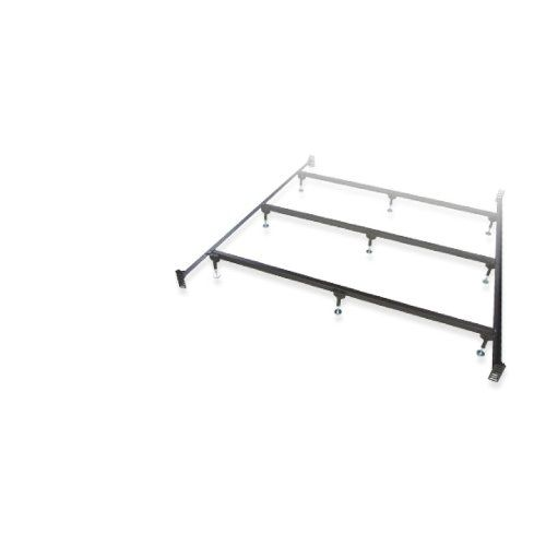 King Heavy Duty Bolt Up Steel Waterbed Frame 4 Cross Supports 12 Adjustable Legs For Sale Waterbed Frame Adjustable Legs Water Bed