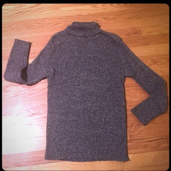 Structure gray 100%cotton turtleneck sweater top L This is a gray ...