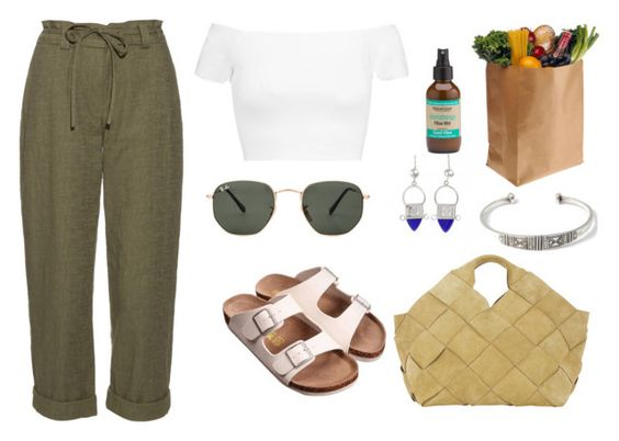 Fès by ruvkaa on Polyvore featuring mode, Alice + Olivia, Diane Von Furstenberg, Loewe and Ray-Ban: