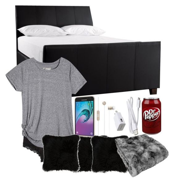 """""""Goodnight guys"""" by babyxgurll ❤ liked on Polyvore featuring Calvin Klein, Samsung and Natural by Lifestyle Group"""