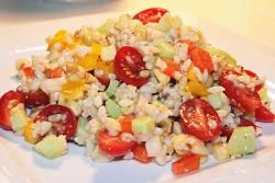 Summertime Brown Rice Salad | All Recipes Vegan - Vegan and vegetarian recipes and products