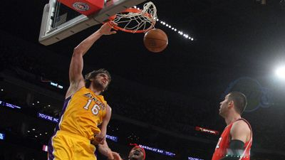 Lakers defeat Hawks, 86-78