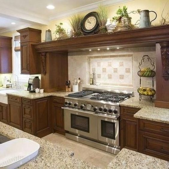 Decorations For Above Kitchen Cabinets: Above Kitchen Cabinet Decor Ideas Kitchen Design Ideas