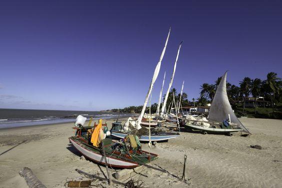 Praia de Caraúbas-RN/Brasil - Caraubas beach, state of Rio Grande do Norte, Brazil