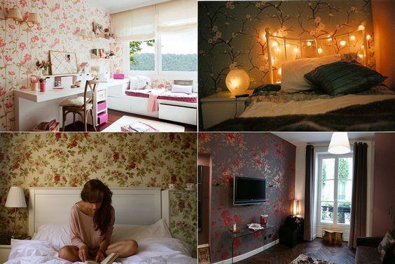 decoração-papel-de-parede-floral-1