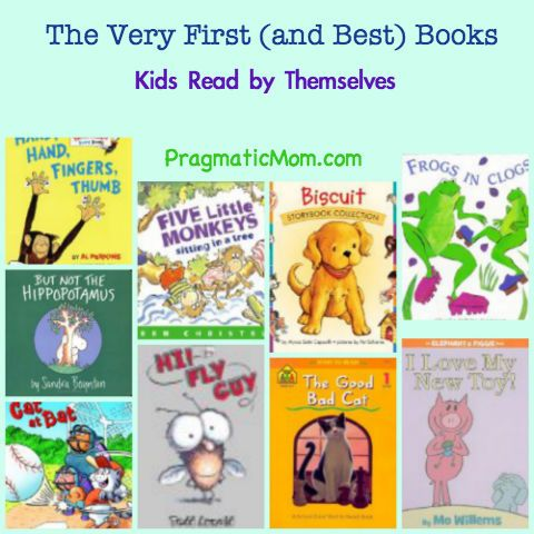 instead of Bob books, best early readers for kids, best easy readers for kids, first books kids can read by themselves. :: PragmaticMom