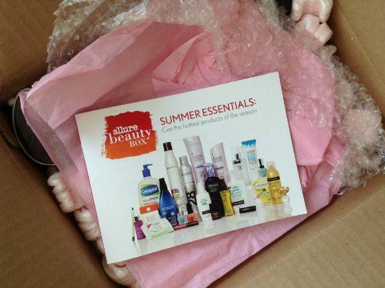 Allure Beauty Box Summer Essentials Review - April 2013