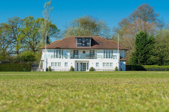 The Cricket Pavilion overlooking Clare's Oak