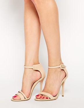 Wide Nude Heels