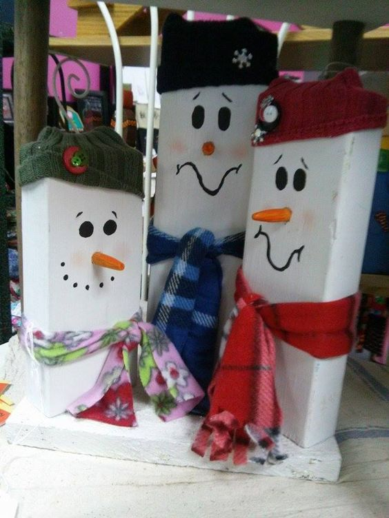 Aren't these snowmen too cute? Available at Get Pinned!
