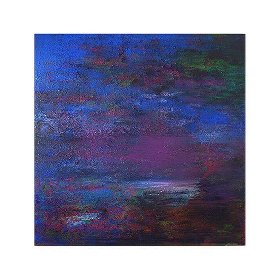 PENSAMIENTOS NOCTURNOS. Alberto Reguera, 2009. 200 x 200 cm, acrylic on canvas