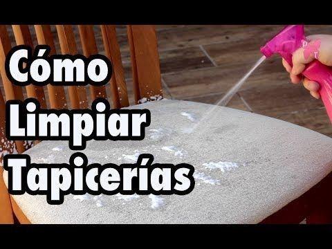 Cómo Limpiar La Tapicería De Las Sillas Sofas Y Del Coche Limpiador Casero El Cómo De Las Cosas Limpieza Tapiceria Limpieza De Tapicería Limpiar Tapizados