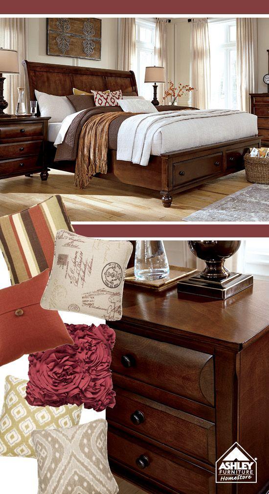ashley furniture work pinterest bedrooms