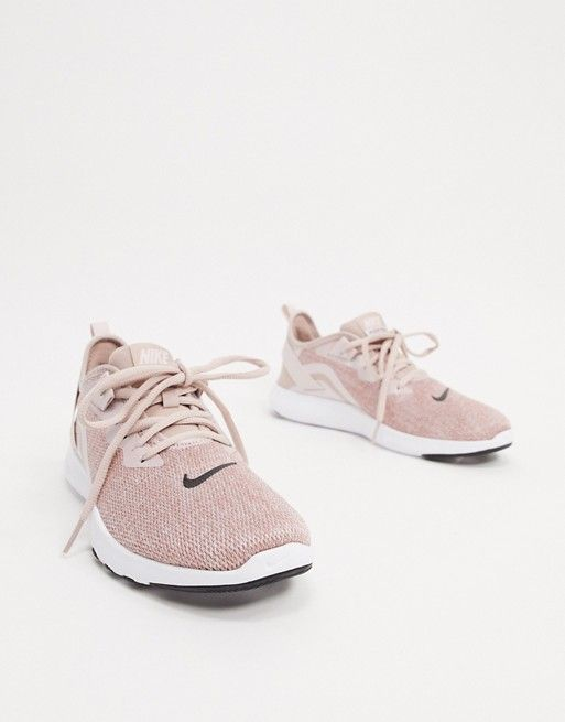 Nike Training Flex sneakers in rose