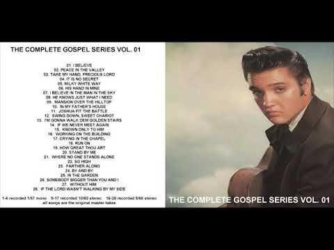 Elvis The Complet Gospel Series Vol 1 Youtube Elvis Presley