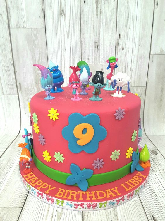 Cake Design Trolls : Trolls cake Romy Pinterest Disney, Cakes and Cake ideas