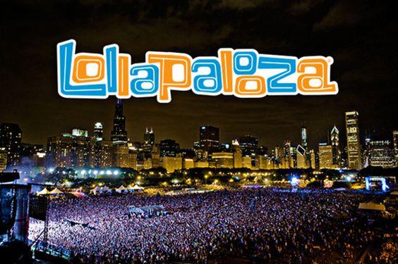 Diseña mercancía para Lollapalooza 2013
