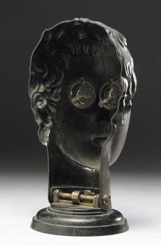 Bakelite face phantom Vienna Austria 1907-1930