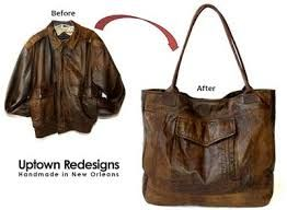 repurposed leather jacket - Google Search