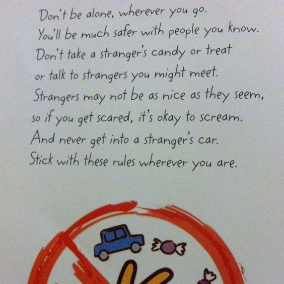 Stranger Danger Craft Ideas