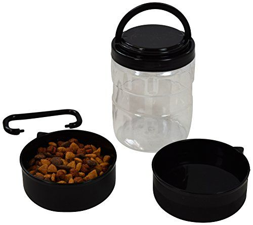 The Jdp Co Travel Dog Food Container With Detachable Travel Dog