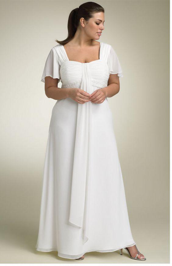 Plus Size Fashion for Women  White dresses for plus size women ...