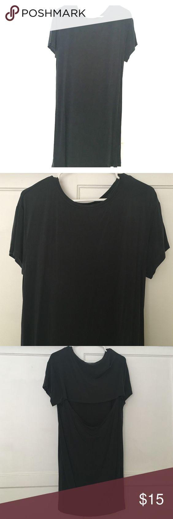Open back tunic 93% Cupro 7% Spandex / never worn H&M Tops Tunics