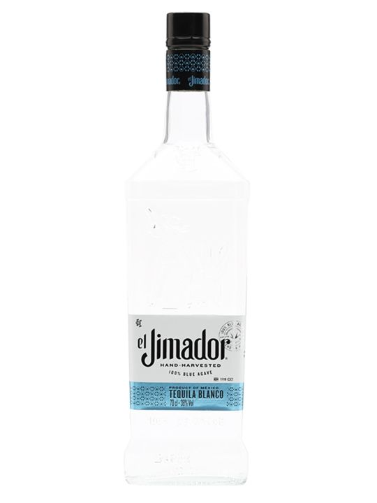 Named after the farmers who grow and harvest the agave plants, El Jimador Blanco is a 100% agave white tequila aged for 40 days before bottling.